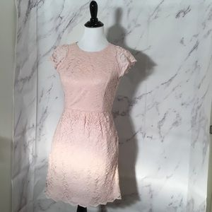 Dress dusty pink